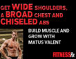 Get Wide Shoulders, a Broad Chest and Chiseled Abs