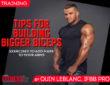 Tips for Building Bigger Biceps